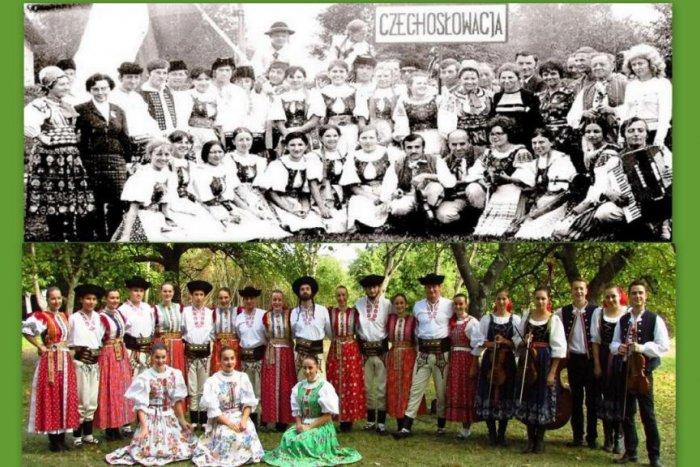 Ilustrační obrázek k článku OBRAZ: Folklorní soubor Liptov slaví v těchto dnech 70 let